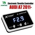 Автомобильный электронный контроллер дроссельной заслонки  гоночный ускоритель  мощный усилитель для AUDI A7 2011-2019  аксессуары для всех двига...