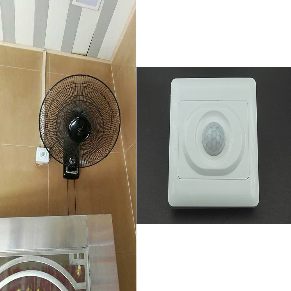 Universal PIR Motion Sensor For Square Bathroom/ Toilet ...