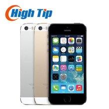 Запечатанной коробке Оригинал Factory Unlocked apple, iphone 5S телефон 16 ГБ 32 ГБ 64 ГБ ROM IOS GPS GPRS LTE 4.0 дюймов отпечатков пальцев используется