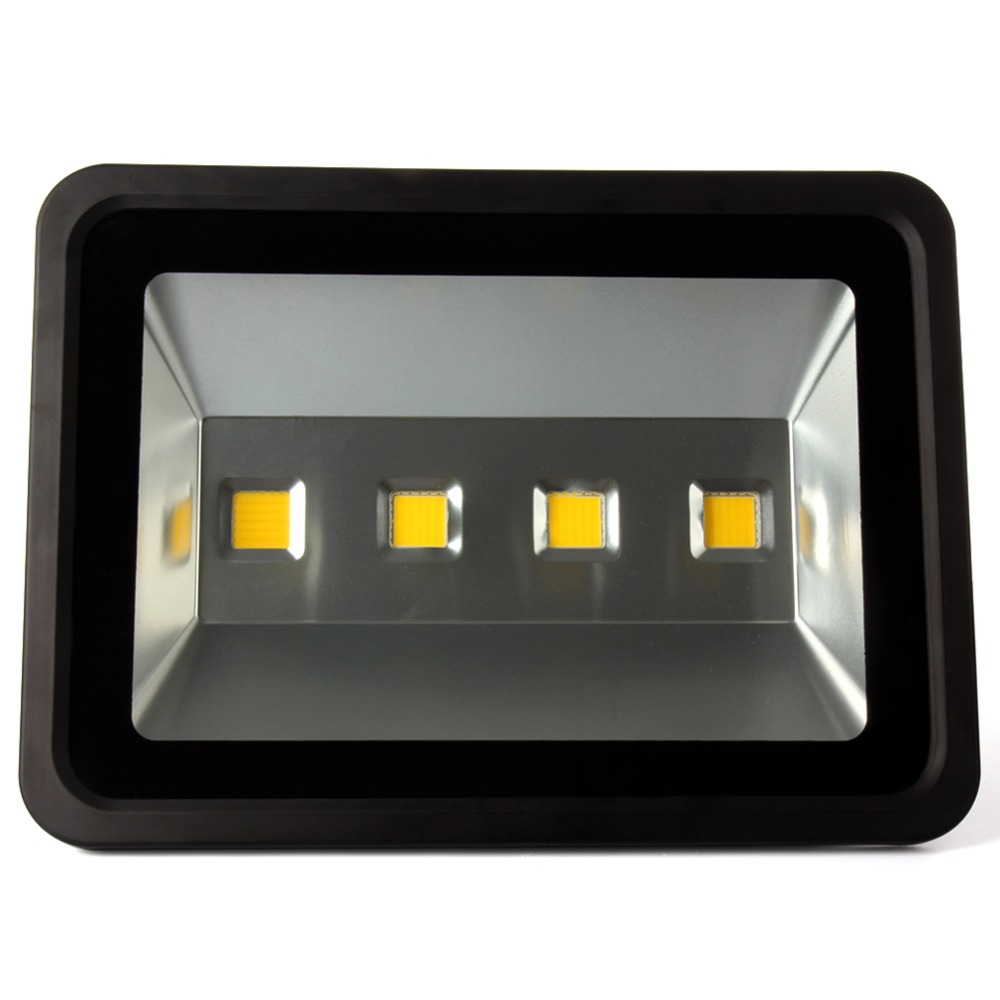10pcs 200W Black shell LED Flood light AC85V-265V Warm/Cool White Waterproof Spotlight Projection lamp Home Garden Outside Light waterproof solar 2w 7000k 200lm 30 led flood cool white light project lamp black
