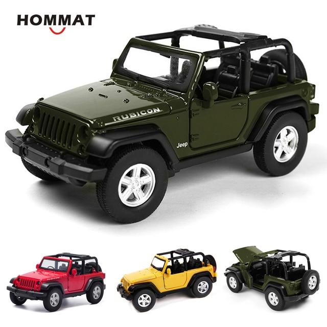 Hommat Simulation 1 32 Jeep Wrangler Rubicon Suv Vehicle Alloy