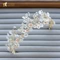 Fashion Women Crown rhinestone princess Tiara girl crystal hairwear bride wedding accessories headpiece flower fascinator qz022