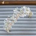 Moda Feminina Crown strass Tiara da princesa acessórios do casamento de noiva headpiece hairwear cristal menina flor fascinator qz022