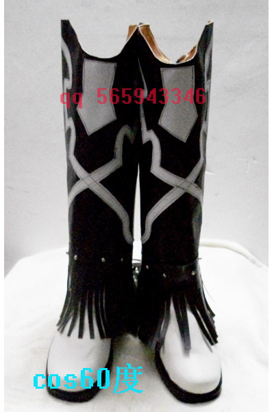 Toaru Majutsu no Index Kanzaki Kaori Black and White Long Cosplay Boots shoes S008 ...