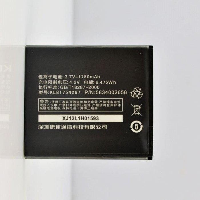 jinsuli Genuine KLB175N267 1750mAh Battery For BL3805 Fly iq4404 iq4402 For Fly IQ4415 Era Style 3 Battery Batterie Bateria