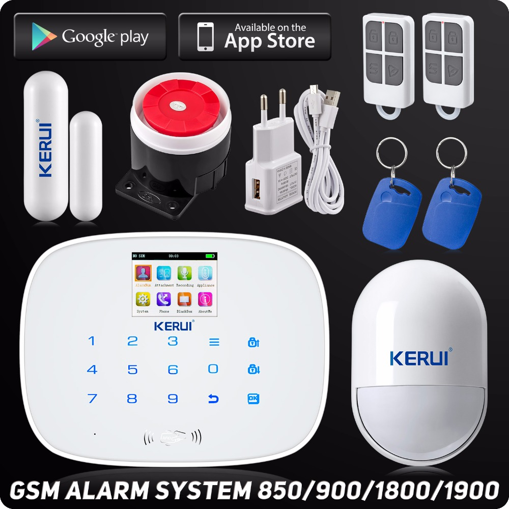 10 kits Wireless GSM APP Security Home Alarm System Autodial Pet Immune Motion Sensor ISO Android Control Door Open Reminder free shipping 99 wireless zone and 2 wired quad band lcd home security pstn gsm alarm system 3 pet immune pirs 5 new door sensor