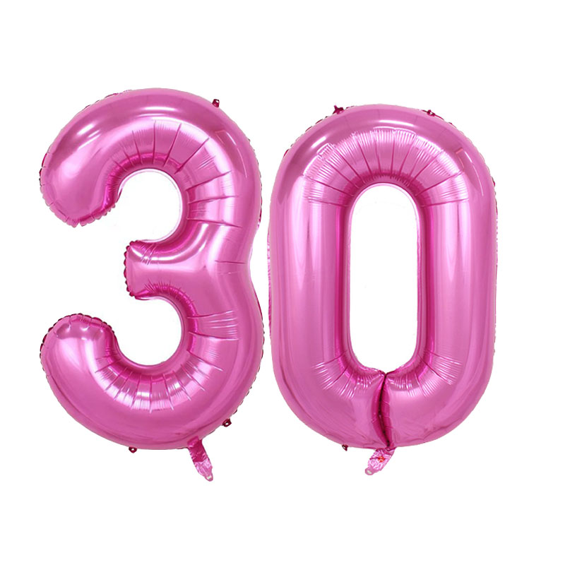 30th Birthday Decorations Pink PromotionShop for Promotional 30th
