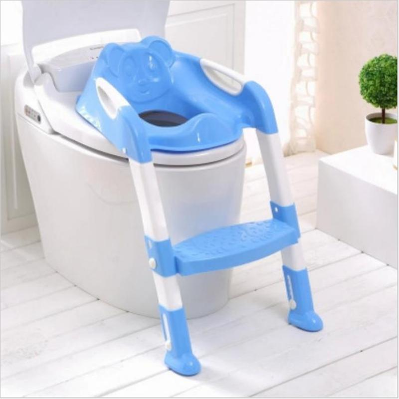 childrens potty chairs leather office johannesburg portable baby seat with ladder children toilet cover kids folding infant chair