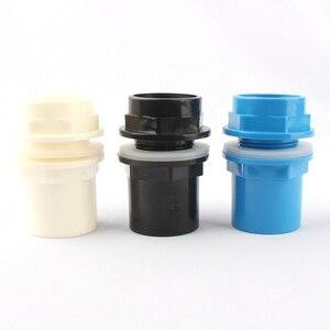 الداخلية 32mm رشاقته الأسماك خزان أنبوب كلوريد متعدد الفاينيل موصلات الحوض الصرف موصل إمدادات المياه أنبوب المفاصل PVC محول أجزاء