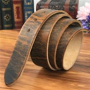 Image 3 - Ceintures en cuir pour hommes, sans boucles, bonne qualité, 105 125CM, SP05