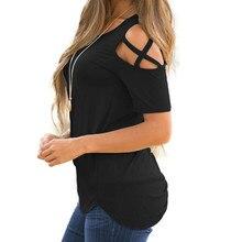 Short Sleeve Women T-Shirts Shirt – Plus Size