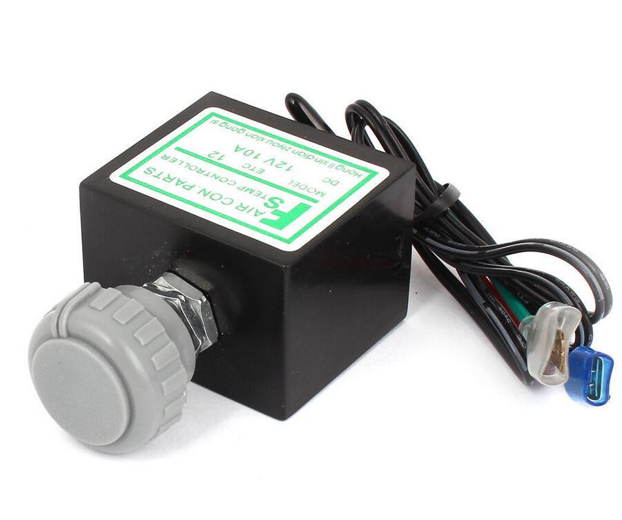 Vehicle Gray Plastic Knob Temperature Control Refrigerator Thermostat DC24V/12V 10A игрушка ecx ruckus gray blue ecx00013t1