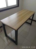 100x60x75 см стальные ножки ноутбук стол компьютерный стол письменный офисный стол
