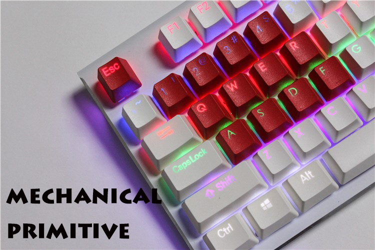 14 keycaps PBT For The League OF Legends Double Color Keycap OEM Cherry MX Switch QWER & ASDF&1234&Esc key DIY Keyboard Keycap