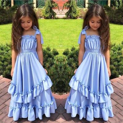 Для девочек в цветочек платье принцессы с бантом Детские Детский праздничный костюм свадебные Вечерние платья