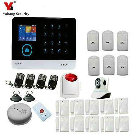 YobangSecurity Wifi Wireless Home Security font b Alarm b font font b System b font DIY