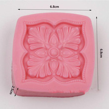silicone soap mold cake decorative mould hand made