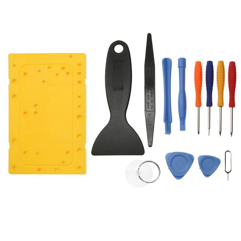 Universal Disassembly Opening Screwdriver Suction Cup Pry Tool Set Mobile Phone Table PC Maintenance Tools