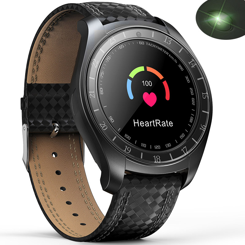 Bluetooth montre intelligente hommes femmes moniteur de fréquence cardiaque podomètre Sport bracelets en cours d'exécution Smartwatch avec carte SIM pour téléphone Android