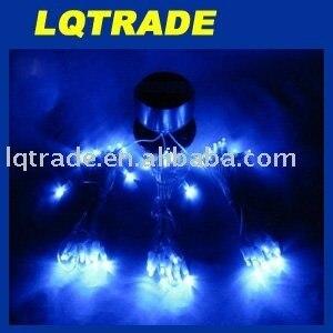 2011 Christmas Light/Festival Decoration Lights/Solar LED String Lamp  blue light 0.36W