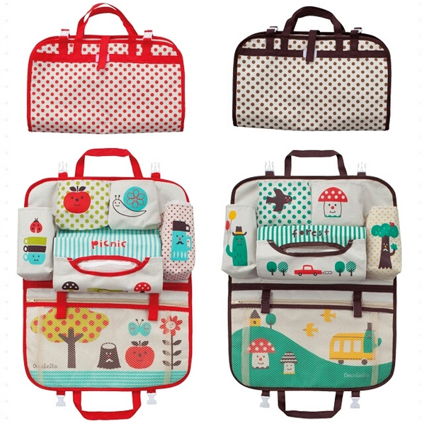 Baby Diaper Bag Organizer For Mom New Design Multi Pocket Infant Travel Nappy Handbags Storage Car Covers Back Seat Accessories