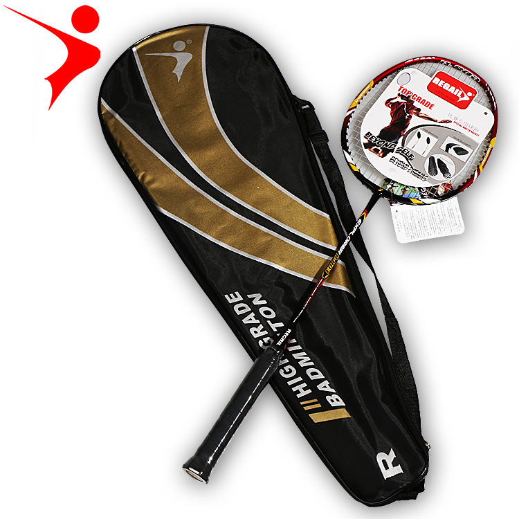 1pcs Carbon Alloy Carbon Fiber Badminton Racket Single Special Competition Outdoor Sports Training High-quality  Badminton