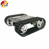DOIT 2018 Новое поступление мини T101 умный робот шасси танка отслежены Автомобильная платформа с 33GB-520 двигателя для Arduino DIY игрушка робот часть