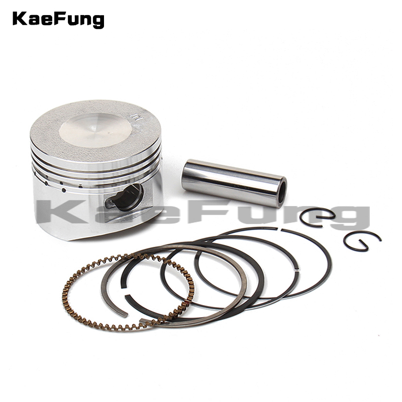 <font><b>lifan</b></font> LF <font><b>110cc</b></font> 125cc <font><b>Engine</b></font> Piston kit 52.4mm Piston 13mm Pin Piston Ring Set for Dirt Pit Bike ATV Quads Go kart Motorcycle image