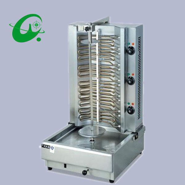 Stainless steel electric Turki  Kebab grill Machine Shawarma Kebab Machine barbecue grill for outdoor stainless steel axle sleeve china shen zhen city cnc machine manufacture