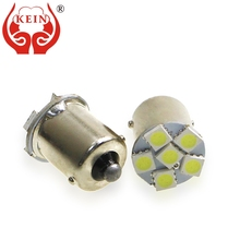 цена на KEIN 8PCS 1156 led p21w BA15S 6smd 5050 led car auto 1156 Reverse Bulb rear DRL Tail Daytime Running lamp light source 12V white