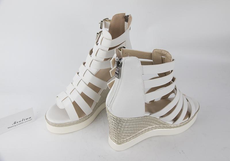 Gladiator Shoes, Women's Platform Wedges, High Heel Sandals, Rome Ladies Wedge Heels 19