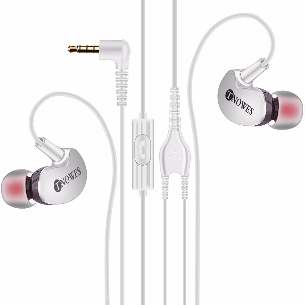 """""""Tnowes"""" sportinių ausinių ausinės su 3,5 mm """"Super Bass"""" - Nešiojami garso ir vaizdo įrašai - Nuotrauka 3"""