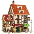 3D головоломка DIY модель детские игрушки франция французский стиль кофейня головоломки, 3D головоломки строительные, Деревянные головоломки