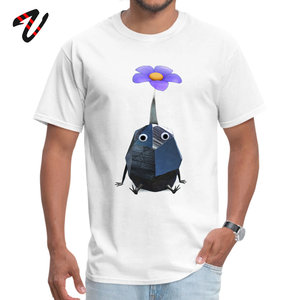 Flower Rock Men Tshirt Pikmin Design Summer Geek Lgbt Scotland Mens Tops T-Shirt Classic Tee Shirts Cheap Short Sleeve T Shirts(China)
