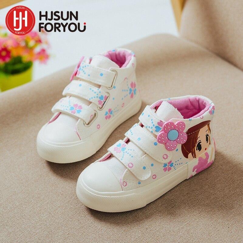 2019 primavera otoño niños zapatos de lona de moda para niñas - Zapatos de niños - foto 3