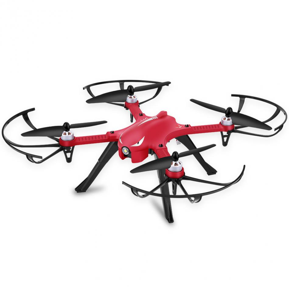 1pc 2 4GHz 4CH Drone Toy 3D Rolling Quadcopter RC Helicopter With Camera Bracket Red Brushless