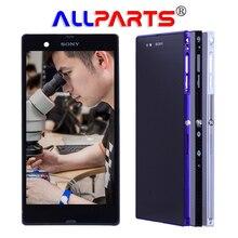 Оригинальный ЖК-дисплей для Sony Xperia Z Ultra Дисплей Сенсорный экран планшета для Sony Xperia Z Ultra Дисплей с Рамка XL39h XL39 c6833
