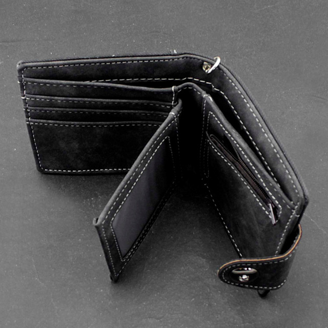 Biker Snap Wallet w/ Chain 3