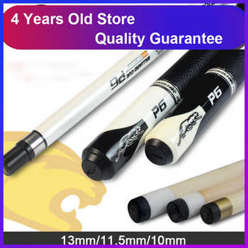 WOLFIGHTER High Quality Billiard Pool Cue Maple Billiard Cues Shaft 13mm 11.5mm 10mm Tips Black White Made In China - DISCOUNT ITEM  53 OFF Sports & Entertainment