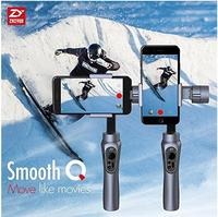 Zhiyun Smooth Q 3 Axis Handheld Gimbal Stabilizer For Smartphone Wireless Control Vertical Shooting Panorama Mode