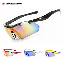 ROBESBON Polarized Photochromic Cycling Glasses TAC Oculos Ciclismo Outdoor Sports Bicycle Eyewear Road MTB Bike Cycling Glasses