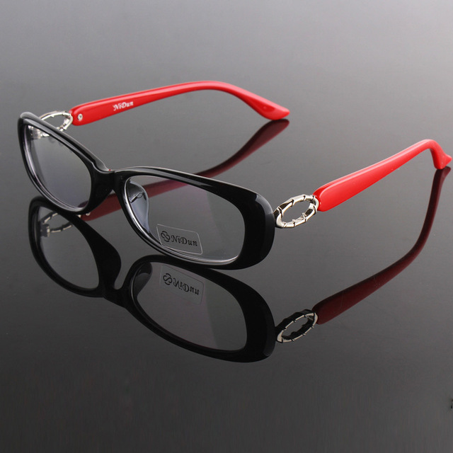 Lady Eyewear Frame Black Wine Red Purple Colors Frame Clear Lenses Prescription Glasses