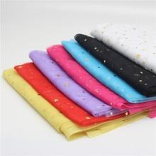 Width 150cm*1m/lot Laser Shiny Fabric Mesh Multicolor Decor Gauze for Wedding Bedding Decorations DIY Handmade Materials