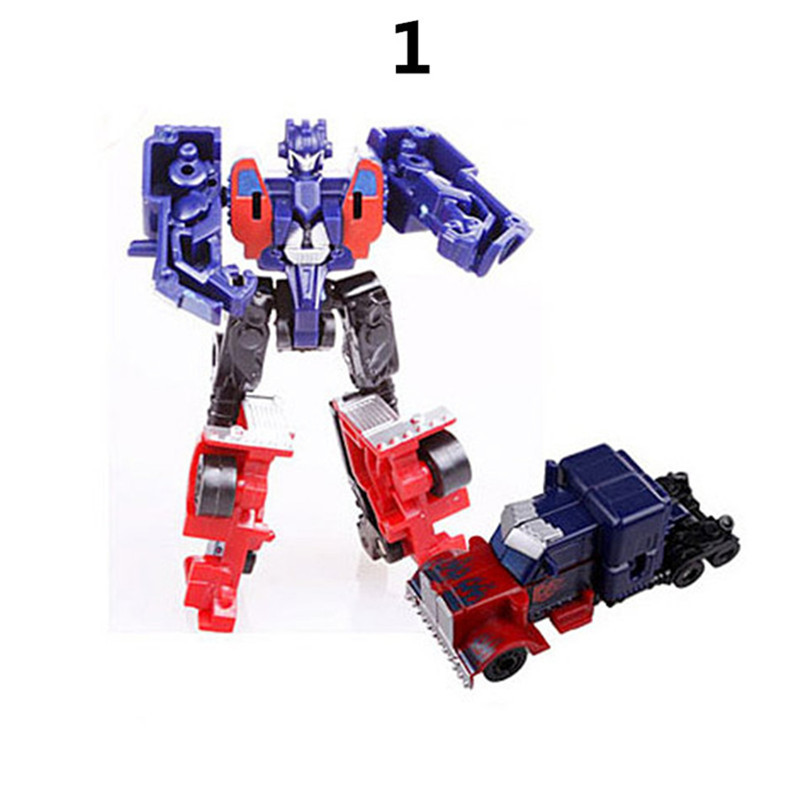 8cm ABS Deformation Airplane Robot Action Figures Super Wing Transformation toys for children gift Brinquedos in Action Toy Figures from Toys Hobbies