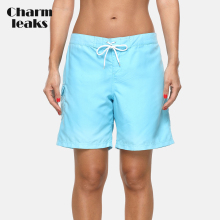 Charmleaks Ladies Beach Trunks Women Strappy Bottom Boy Shorts Swimwear Pocket Briefs Swimming