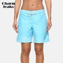 Женские пляжные трусы charmleak женские на бретельках шорты