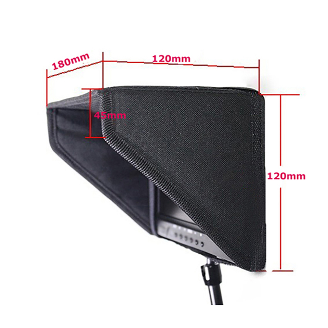 Detachable Visor sun Hood For 7 Inch Video Screen 7