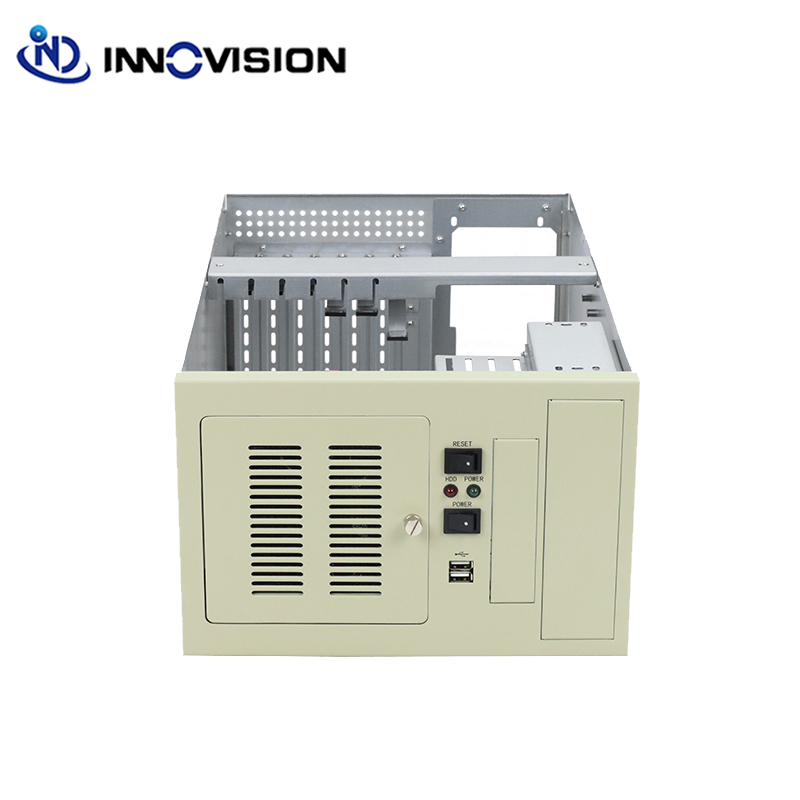 Image 3 - Compact wallmounted chassis IPC2406C industrial computer case supporting 6slot industrial ISA backplane-in Industrial Computer & Accessories from Computer & Office