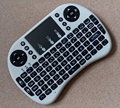 1 pcs por Correio i8-Nobacklit Fly Air Mouse Mini Handheld Wireless teclado 2.4 GHz Touchpad Controle Remoto Para M8S MXIII TV BOX MXQ CAIXA