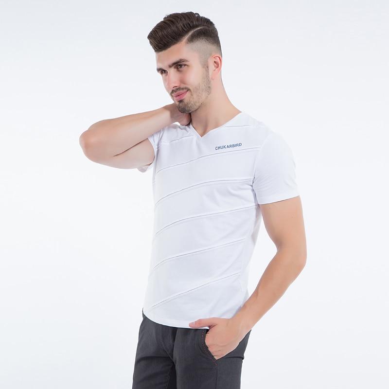 Liseaven Mens Tops & Tees V ყდის პერანგი - კაცის ტანსაცმელი - ფოტო 2